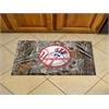 "FANMATS MLB - New York Yankees Scraper Mat 19""x30"" - Camo"
