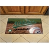 "FANMATS MLB - Oakland Athletics Scraper Mat 19""x30"" - Ball"