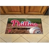 "FANMATS MLB - Philadelphia Phillies Scraper Mat 19""x30"" - Ball"