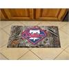 "FANMATS MLB - Philadelphia Phillies Scraper Mat 19""x30"" - Camo"