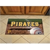 "FANMATS MLB - Pittsburgh Pirates Scraper Mat 19""x30"" - Ball"