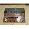 "FANMATS MLB - San Diego Padres Scraper Mat 19""x30"" - Ball"