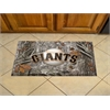 "FANMATS MLB - San Francisco Giants Scraper Mat 19""x30"" - Camo"