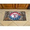 """FANMATS MLB - Texas Rangers Scraper Mat 19""""x30"""" - Camo"""