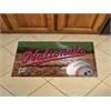 "FANMATS MLB - Washington Nationals Scraper Mat 19""x30"" - Ball"