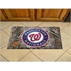 "FANMATS MLB - Washington Nationals Scraper Mat 19""x30"" - Camo"