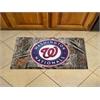 """FANMATS MLB - Washington Nationals Scraper Mat 19""""x30"""" - Camo"""