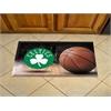 "FANMATS NBA - Boston Celtics Scraper Mat 19""x30"" - Ball"
