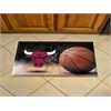 "FANMATS NBA - Chicago Bulls Scraper Mat 19""x30"" - Ball"