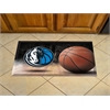 "FANMATS NBA - Dallas Mavericks Scraper Mat 19""x30"" - Ball"