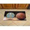 "FANMATS NBA - Denver Nuggets Scraper Mat 19""x30"" - Ball"