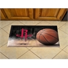 "FANMATS NBA - Houston Rockets Scraper Mat 19""x30"" - Ball"