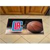 "FANMATS NBA - Los Angeles Clippers Scraper Mat 19""x30"" - Ball"