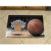 "FANMATS NBA - New York Knicks Scraper Mat 19""x30"" - Ball"