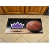"FANMATS NBA - Sacramento Kings Scraper Mat 19""x30"" - Ball"