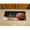 """FANMATS NBA - San Antonio Spurs Scraper Mat 19""""x30"""" - Ball"""