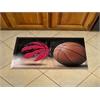 """FANMATS NBA - Toronto Raptors Scraper Mat 19""""x30"""" - Ball"""