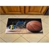 "FANMATS NBA - Utah Jazz Scraper Mat 19""x30"" - Ball"