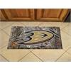 "FANMATS NHL - Anaheim Ducks Scraper Mat 19""x30"" - Camo"