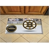 "FANMATS NHL - Boston Bruins Scraper Mat 19""x30"" - Puck"