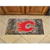 "FANMATS NHL - Calgary Flames Scraper Mat 19""x30"" - Camo"