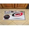"""FANMATS NHL - Carolina Hurricanes Scraper Mat 19""""x30"""" - Puck"""