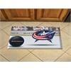 "FANMATS NHL - Columbus Blue Jackets Scraper Mat 19""x30"" - Puck"