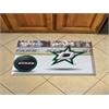 """FANMATS NHL - Dallas Stars Scraper Mat 19""""x30"""" - Puck"""