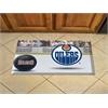 "FANMATS NHL - Edmonton Oilers Scraper Mat 19""x30"" - Puck"