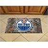 "FANMATS NHL - Edmonton Oilers Scraper Mat 19""x30"" - Camo"