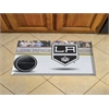 "FANMATS NHL - Los Angeles Kings Scraper Mat 19""x30"" - Puck"