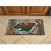 "FANMATS NHL - Minnesota Wild Scraper Mat 19""x30"" - Camo"