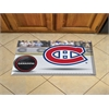 "FANMATS NHL - Montreal Canadiens Scraper Mat 19""x30"" - Puck"