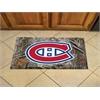 """FANMATS NHL - Montreal Canadiens Scraper Mat 19""""x30"""" - Camo"""