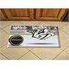 """FANMATS NHL - Nashville Predators Scraper Mat 19""""x30"""" - Puck"""