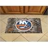 "FANMATS NHL - New York Islanders Scraper Mat 19""x30"" - Camo"