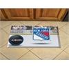 """FANMATS NHL - New York Rangers Scraper Mat 19""""x30"""" - Puck"""