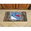 "FANMATS NHL - New York Rangers Scraper Mat 19""x30"" - Camo"