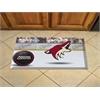 """FANMATS NHL - Phoenix Coyotes Scraper Mat 19""""x30"""" - Puck"""