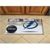 "FANMATS NHL - Tampa Bay Lightning Scraper Mat 19""x30"" - Puck"