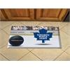 "FANMATS NHL - Toronto Maple Leafs Scraper Mat 19""x30"" - Puck"
