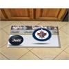 "FANMATS NHL - Winnipeg Jets Scraper Mat 19""x30"" - Puck"