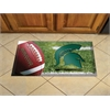 "FANMATS Michigan State Scraper Mat 19""x30"" - Ball"
