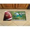 """FANMATS Notre Dame Scraper Mat 19""""x30"""" - Ball"""