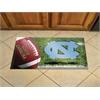 "FANMATS UNC - Chapel Hill Scraper Mat 19""x30"" - Ball"