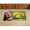 "FANMATS Iowa Scraper Mat 19""x30"" - Ball"
