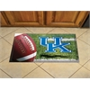 """FANMATS Kentucky Scraper Mat 19""""x30"""" - Ball"""
