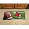 """FANMATS Louisville Scraper Mat 19""""x30"""" - Ball"""