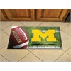 "FANMATS Michigan Scraper Mat 19""x30"" - Ball"