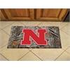 "FANMATS Nebraska Scraper Mat 19""x30"" - Camo"